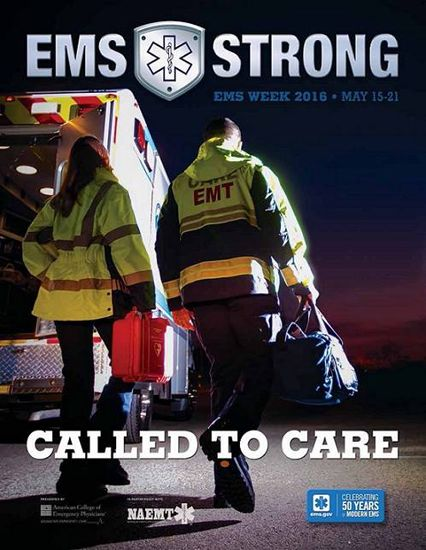 EMS Week flyer for 2016