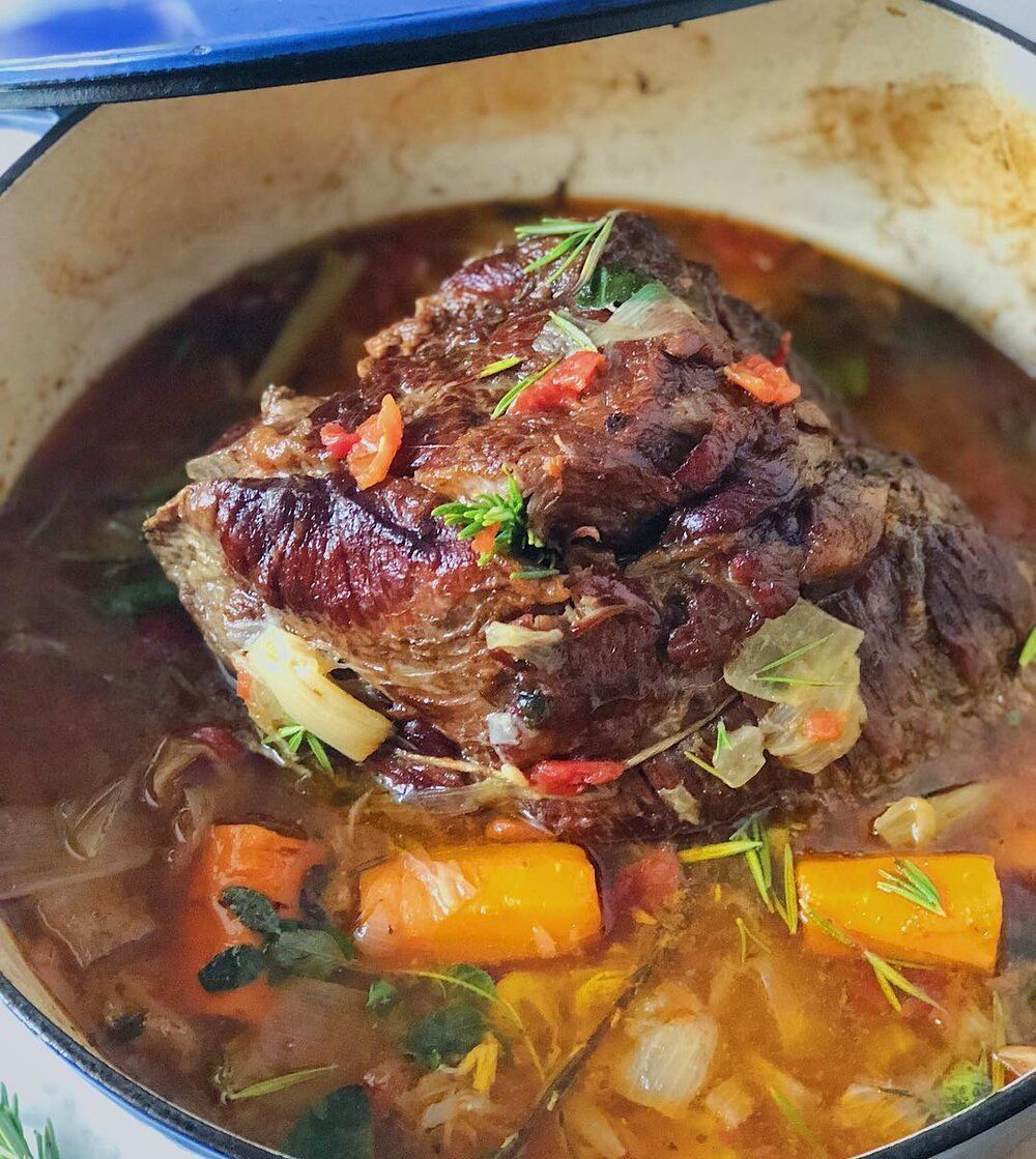 Cozy Winter Pot Roast Cook By Color Nutrition Whole 30 Recipes Pot Roast Healthy Family Dinners