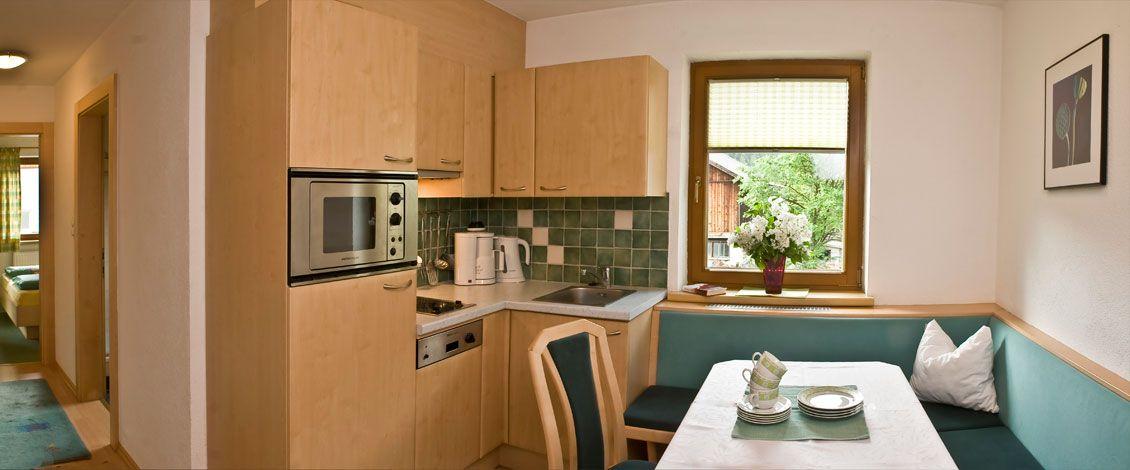 Ferienwohnung Ötztal - #Kamille 1 Stock, 40m2, 2-4 Personen - essecken für küchen
