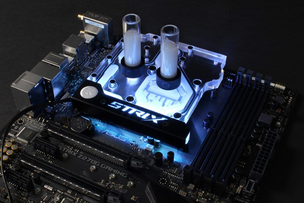 EK releases a new monoblock for ASUS Z270 motherboards   Teckknow