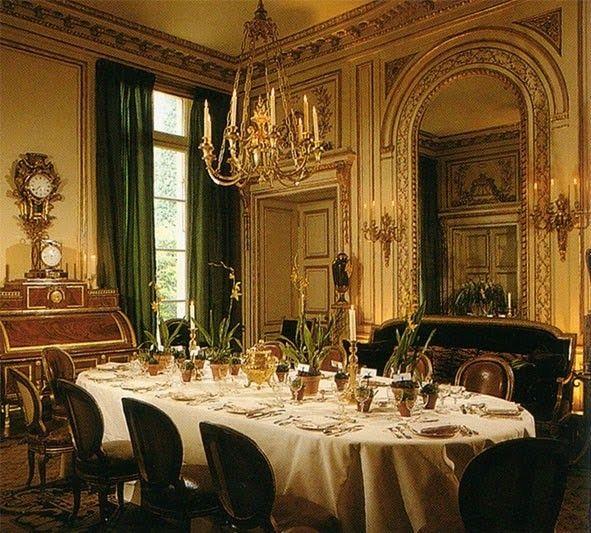 Des Idées Déco  La Salle à Manger Parisians, Mansion and Givenchy