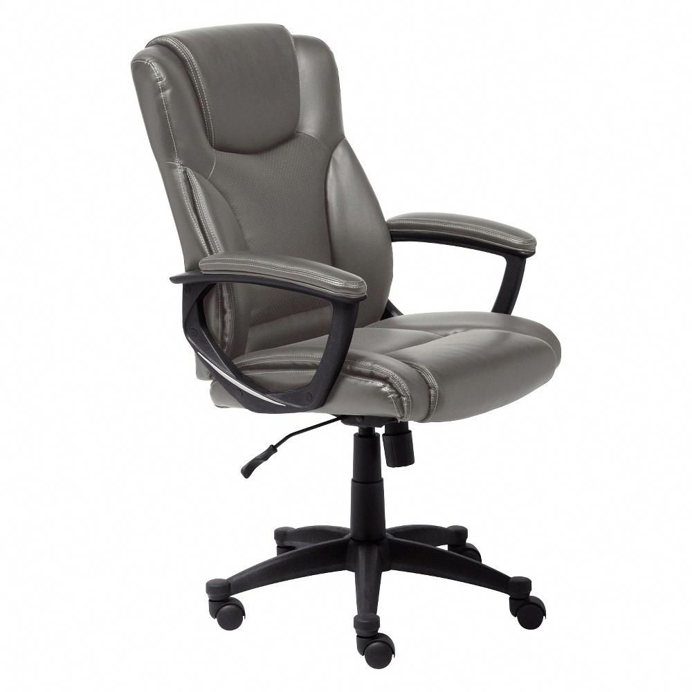 Harvard Chair For Sale Waldo Brown Leather Recliner Club Style Hannah Office Gray Serta Officechairsonline