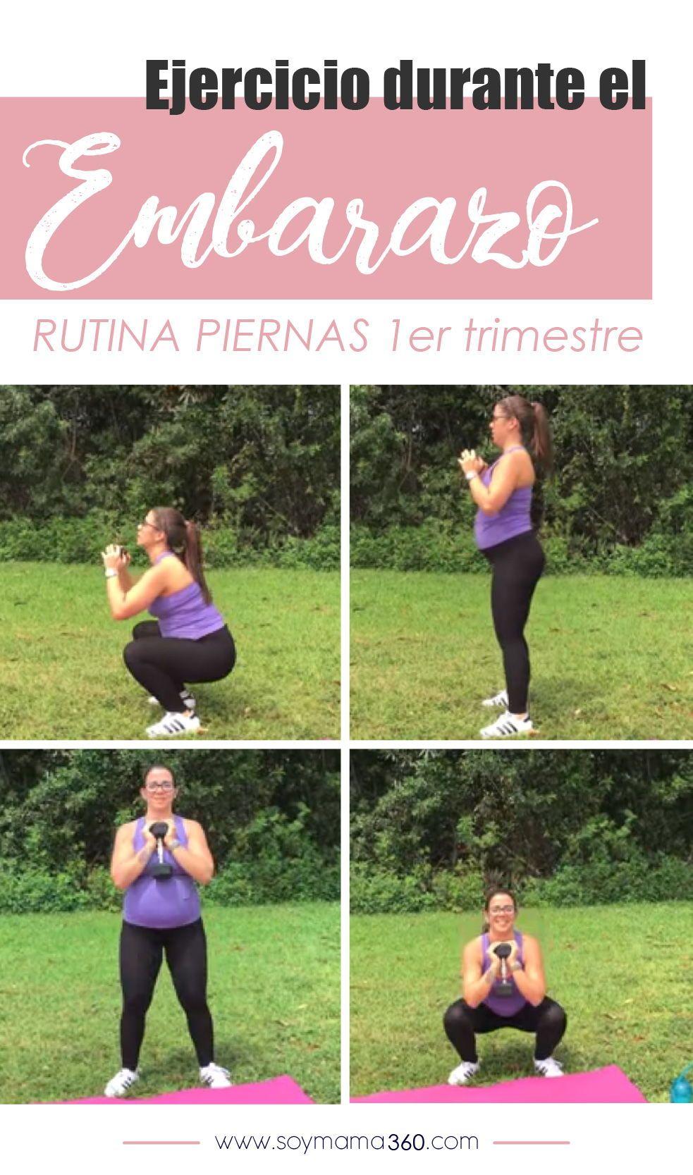 rutina de ejercicios para embarazadas primer trimestre