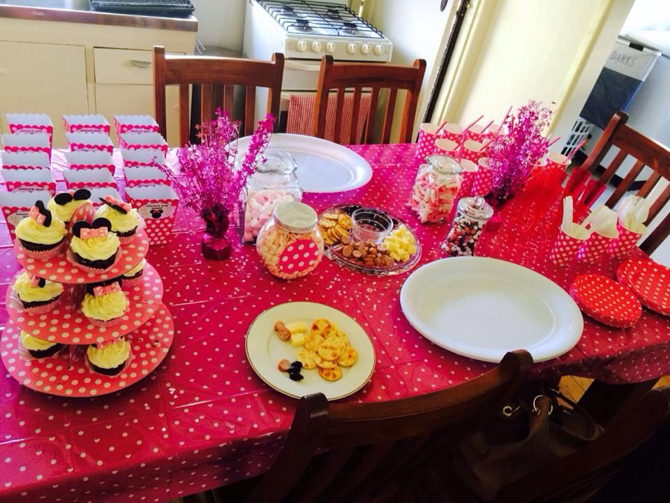 baby shower food table ideas minnie mouse baby shower pinterest