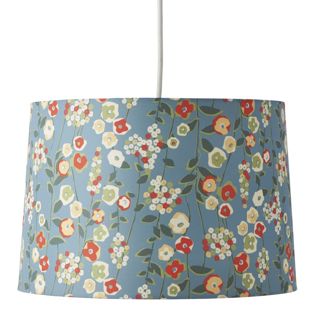 From Wilko's, Ditsy Floral Shade in Duck Egg. Even better in the flesh!