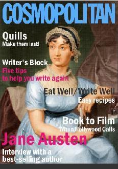 Jane Austen, cover girl