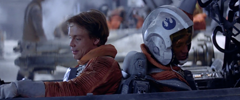 Image result for star wars the empire strikes back luke and dack