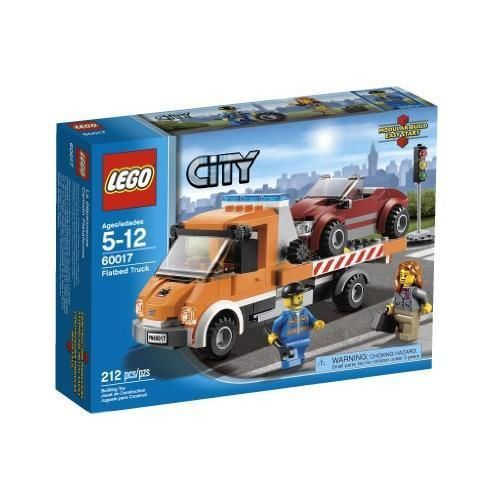 New LEGO City Flatbed Truck 60017, Ages 5-12 #LEGO