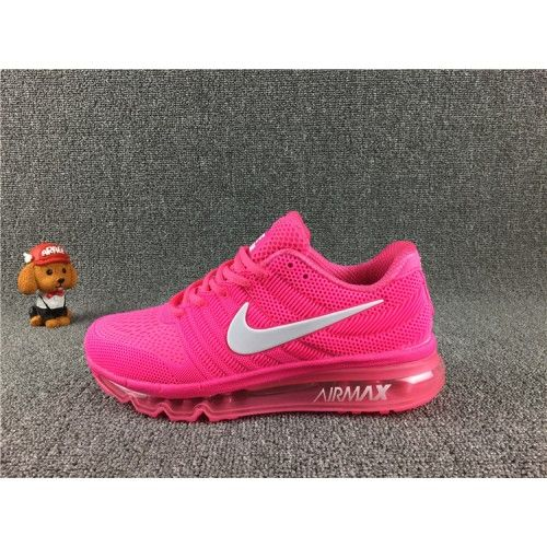 Best Nike Air Max 2017 Womens Running Shoes Peach | Nike air