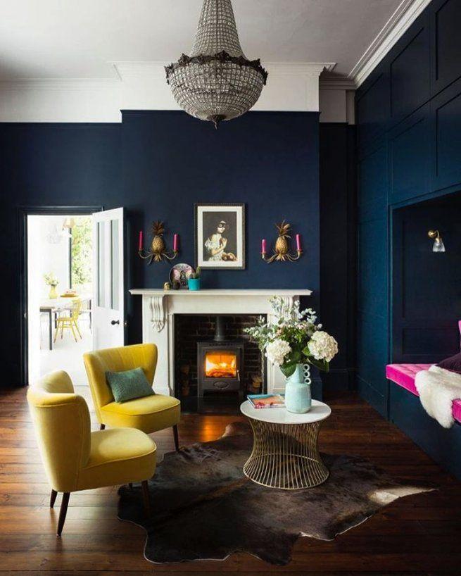 Best 25 Dark Blue Rooms Ideas On Pinterest Dark Blue Walls Dark Blue Living Room And Dark Wa Dark Living Rooms Blue Walls Living Room Dark Blue Living Room