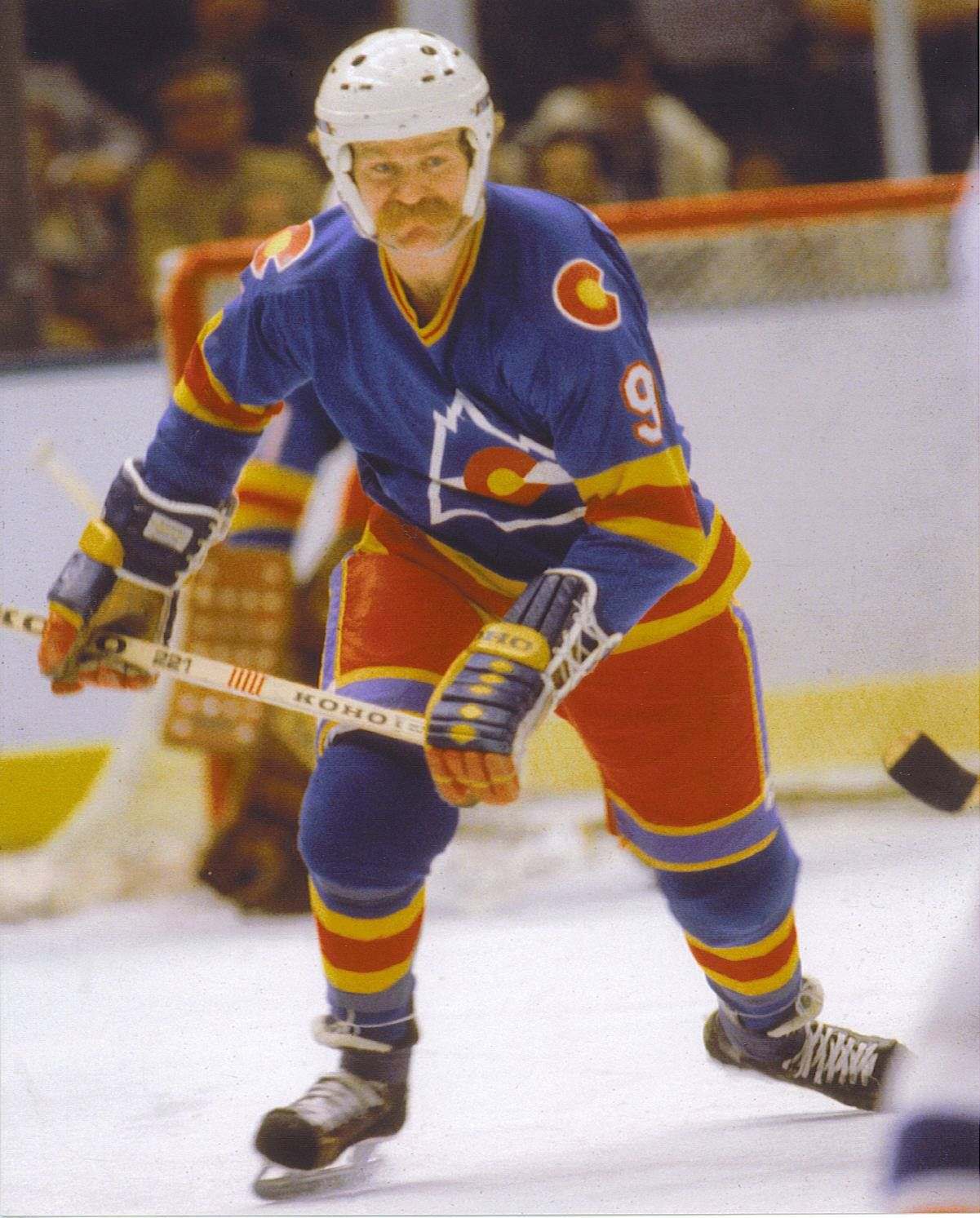 Lanny With The White Helmet Rare Sight With A Road Uniform Nhl Hockey Players Nhl Players Hockey
