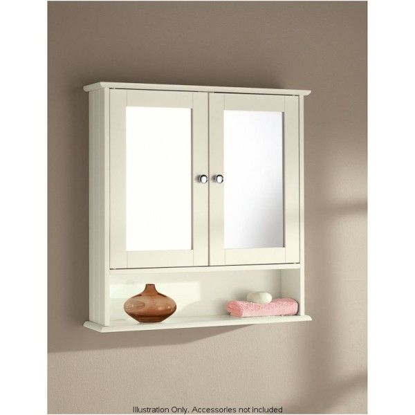 bathroom wall cabinet with mirror 1