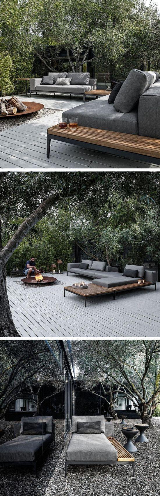Terrasse war gestern. Chillout-Bereich ist heute. #happyhausbau # dreamhouse2019 #wir…