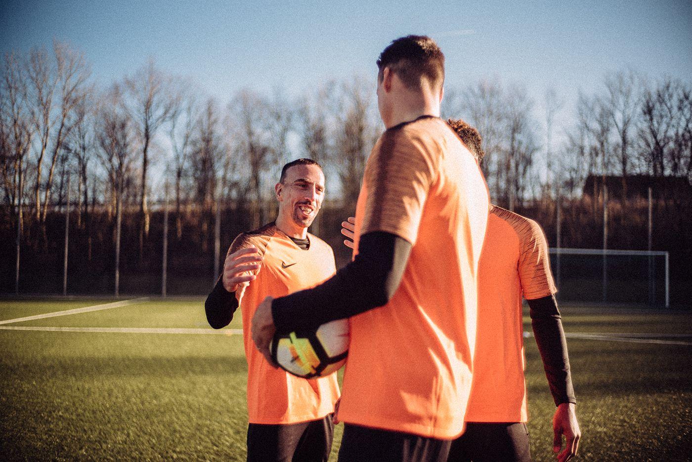 Satisfacer Compuesto conductor  Franck Ribery / Nike on Behance | Franck ribéry, Nike, Couple photos