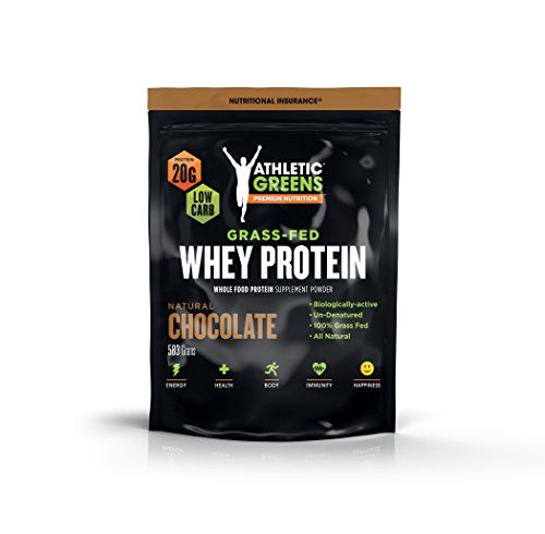 Cheap Athletic Greens Grass Fed Whey Protein Natural Chocolate Deliciously Smooth Protein Shake 100 Grass Fed No Hormones Certified No Gmos 20g Of Prot Grass Fed Whey Protein Whey Protein Protein Shakes