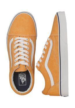 734e3cd1544 Vans - Old Skool Washed Canvas Citrus Crown Blue - Shoes impericon ...