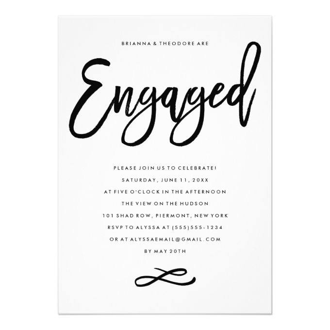 Free Engagement Party Invitation Templates Printable – Free Engagement Party Invitation Templates Printable