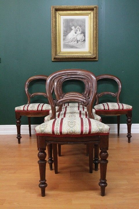 Antique Dining Chairs EBay | Antique Australian Colonial Cedar SET OF 6 Dining  Room Kitchen Chairs