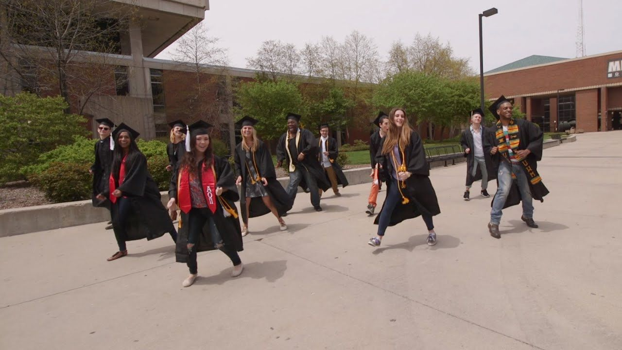 """CAN'T STOP THE FEELING!"" - UW-Milwaukee Graduation Edition"