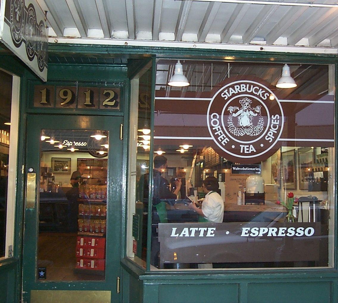 The Original Starbucks Shop The Original Starbucks