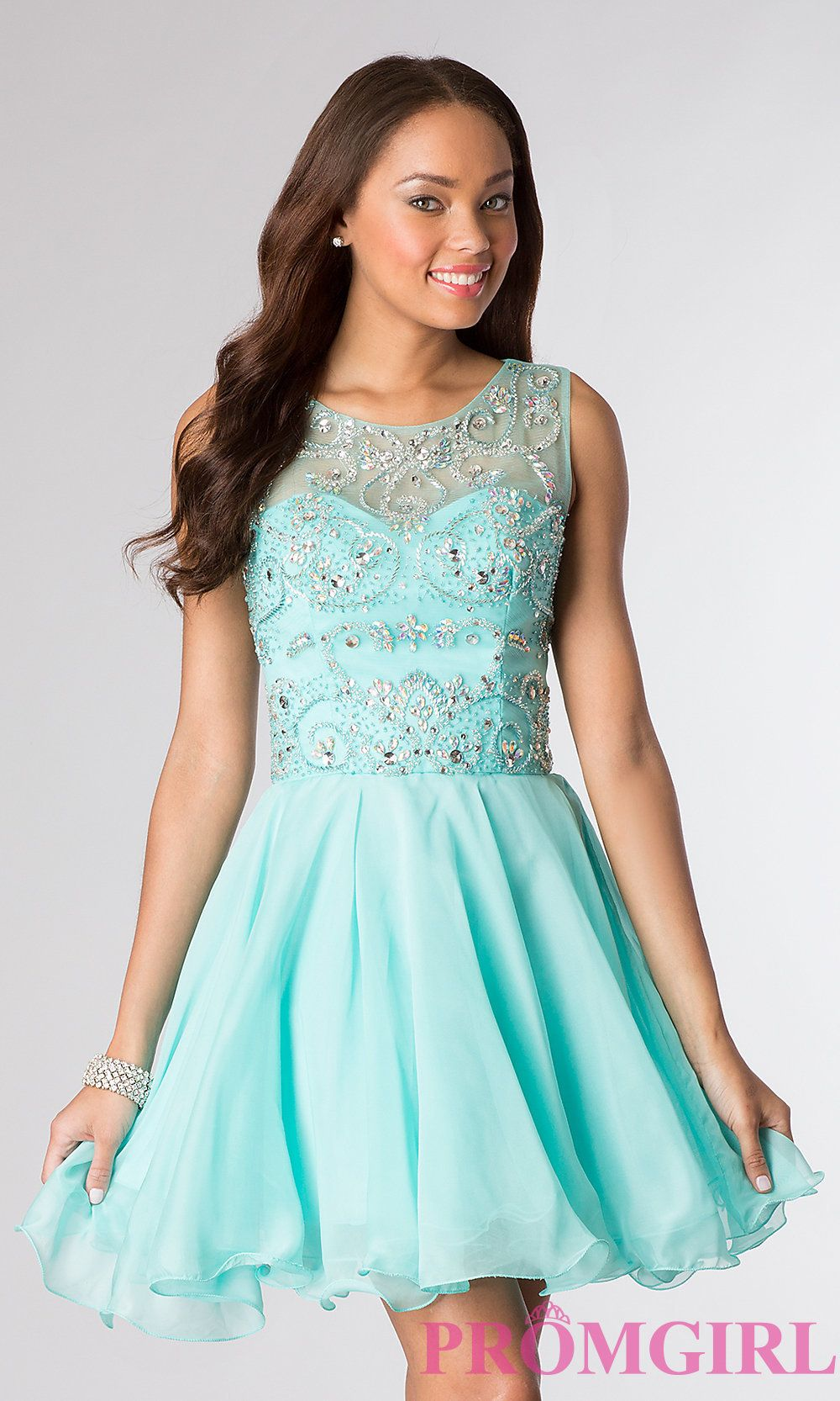 Short prom dress style dq front image for grace pinterest