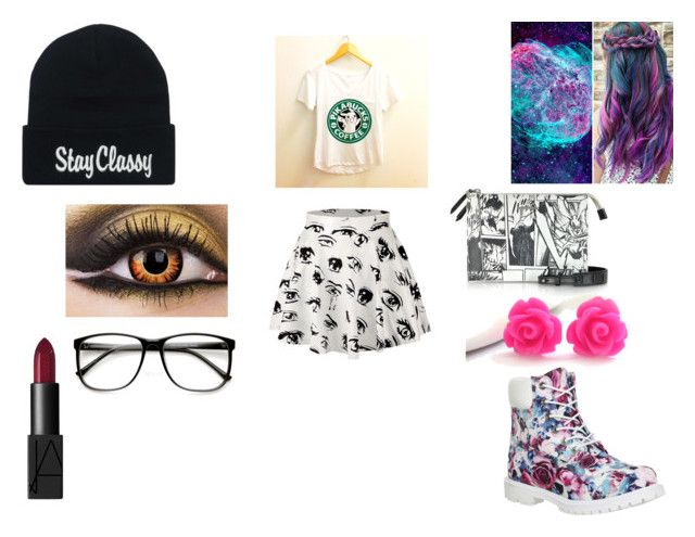 """""""#Classyforacure"""" by hhartsell ❤ liked on Polyvore featuring beauty, Timberland, McQ by Alexander McQueen, NARS Cosmetics, ZeroUV and ClassyForACure"""