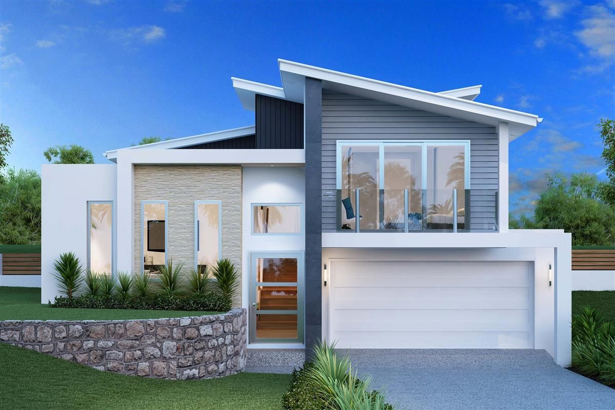 waterford 234 sl element split level home designs in logan gj gardner homes. beautiful ideas. Home Design Ideas
