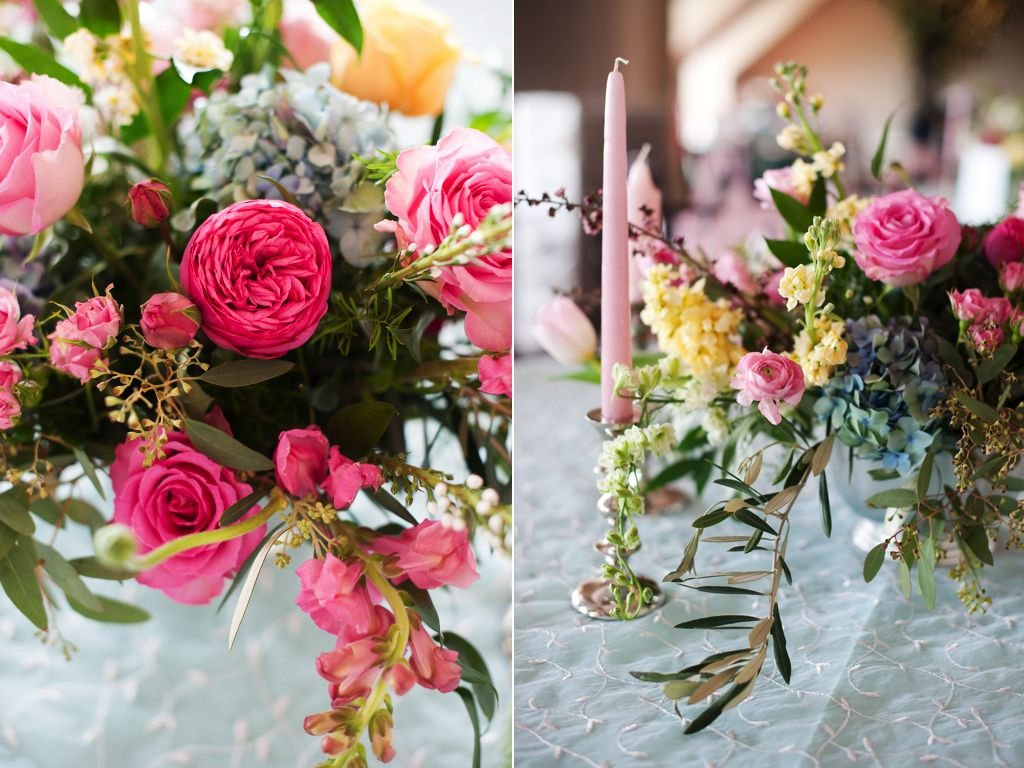 Sleepy Ridge Wedding Flowers Utah Spring Wedding Flower Centerpiece