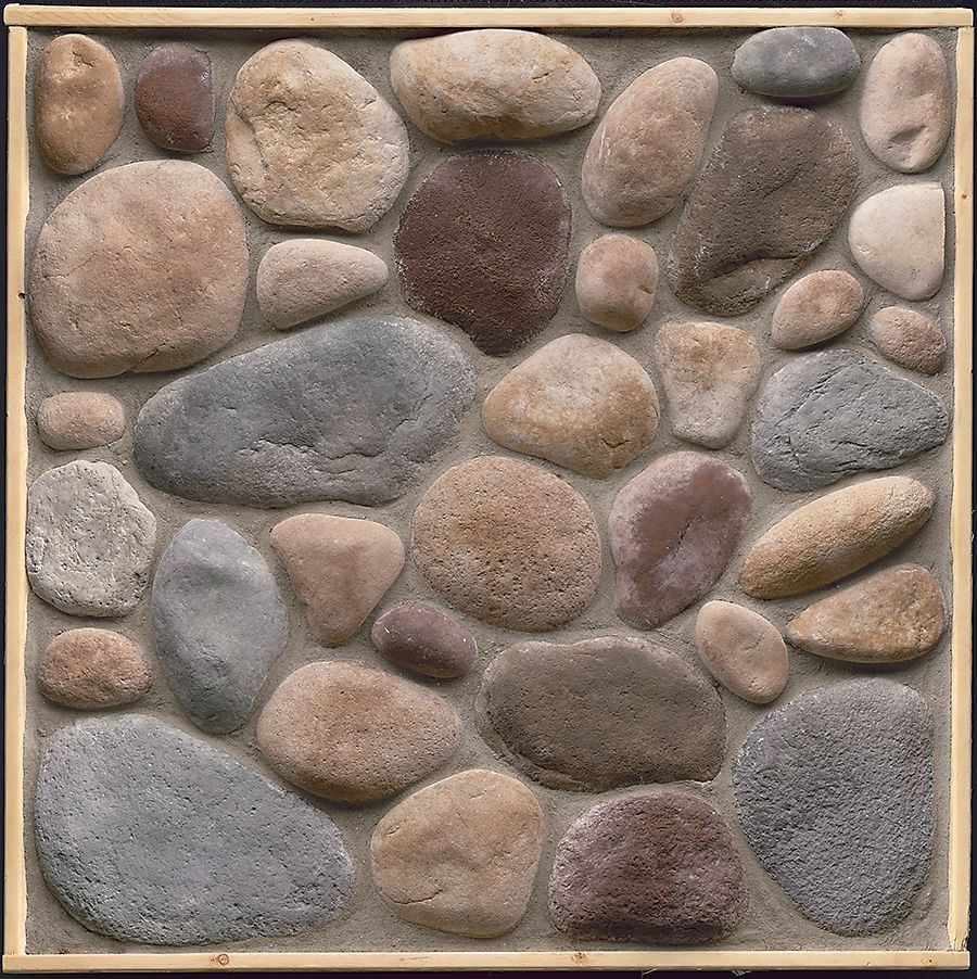 Stonecraft river rock adirondack flats 8 sq feet for Stonecraft fireplaces