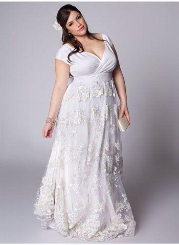 Vestidos de cerimonia baratos para gordas
