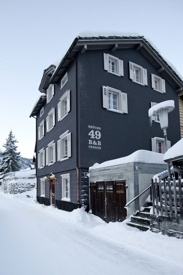 Superbe Hotel Pension Brucke 49 Nordic Design Swiss Chalet Rooms For Rent House Exterior