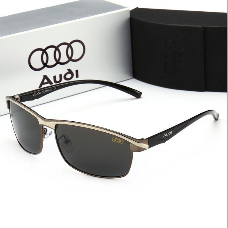 2b6b6c7e52 AUDI 2018 Man Polarized Sunglasses Classic Men s Lens Glasses WITH BRAND  BOX!!!  fashion  clothing  shoes  accessories  mensaccessories ...