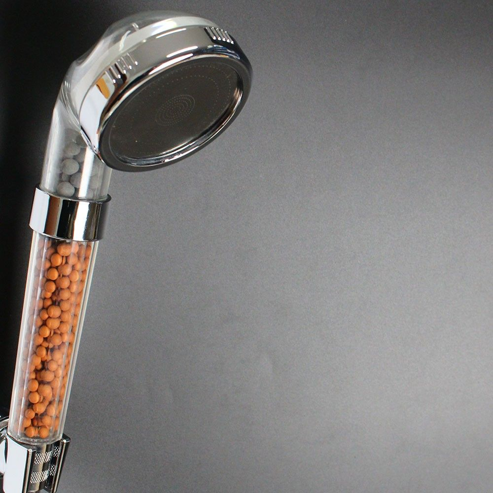 c1381pc mineral stone filtering increase pressure water saving resistance shower head buy water saving hand stone filtering shower head
