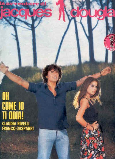Fotoromanzi Lancio Jacques Douglas With Franco Gasparri And