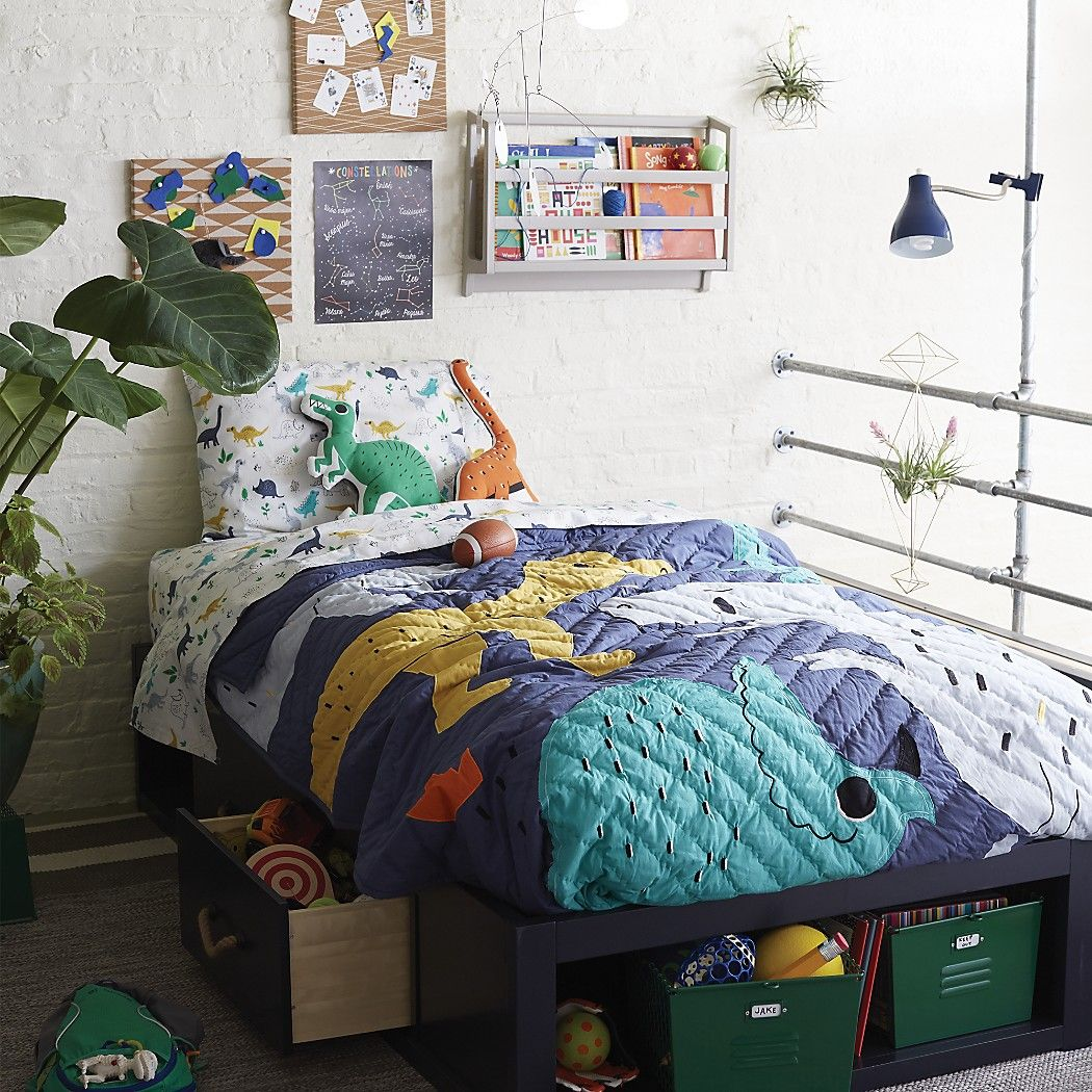 Best Retro Reptile Bedding Home Decor Boys Room Decor Kids 640 x 480