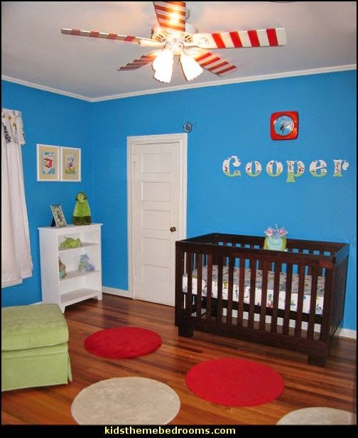 Dr Seuss Decorating Ideas Baby Nursery Themed