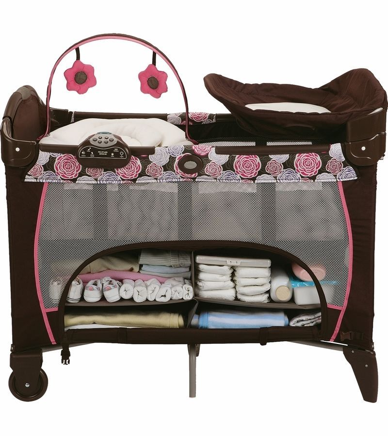 Musical Playard Graco Pack N Play Playpen Nursery Center Travel Crib Binet Gracomusicalplaypen