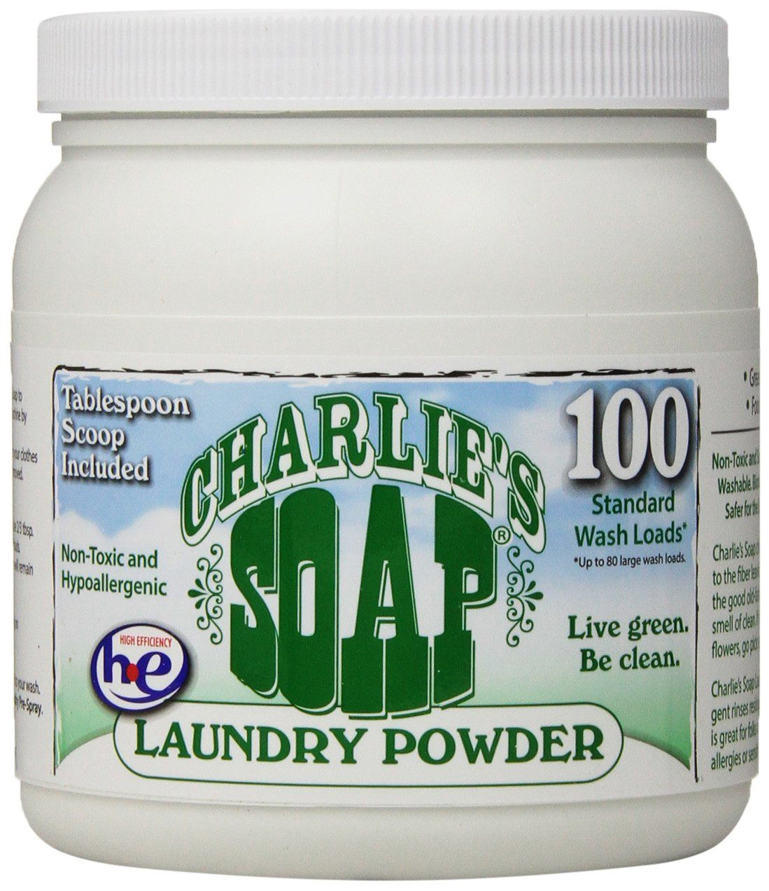 Charlie S Soap Laundry Powder 2 64 Lbs We Switched From Liquid