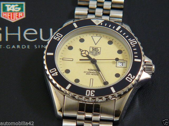 TAG Heuer 1000 Submariner Man Stainless Steel with a ...