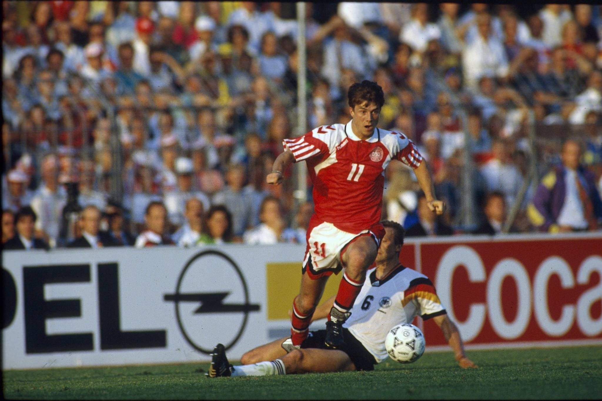 Uefa champions league 92/93 · leeds united. Brian Laudrup | Brian laudrup, Sports, Stationary bike