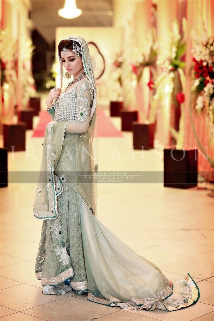 Latest Styles & Designs of Bridal Walima Dresses Collection 2015 ...