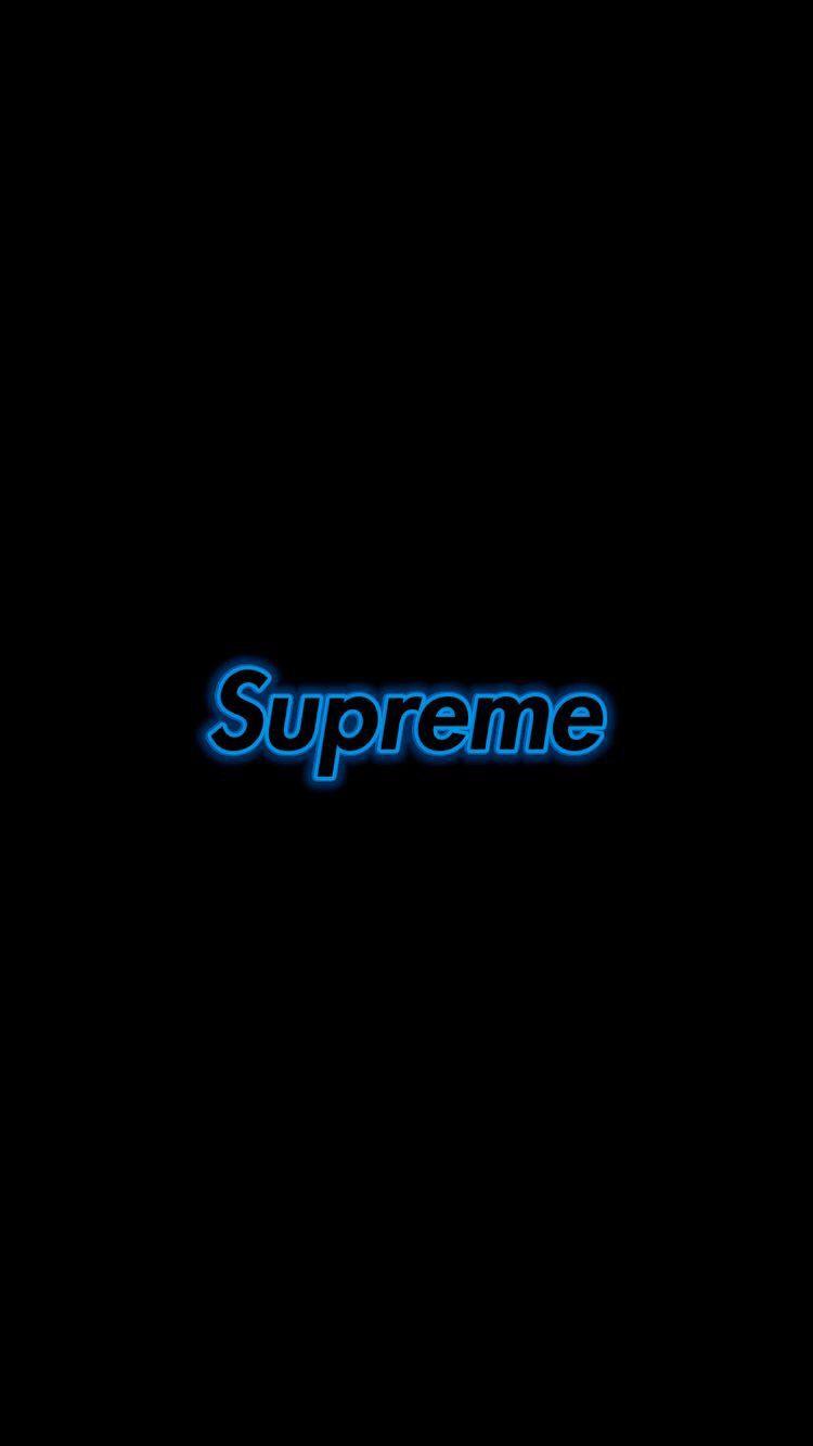 Supreme Street Wear Supreme Wallpaper Blue Wallpaper Iphone Edgy Wallpaper