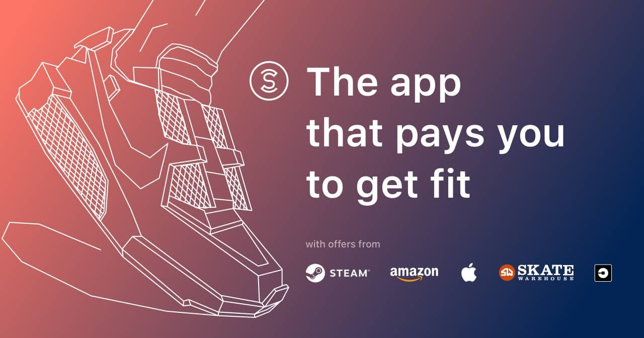 The app that pays you to get fit Sweatcoin rewards you