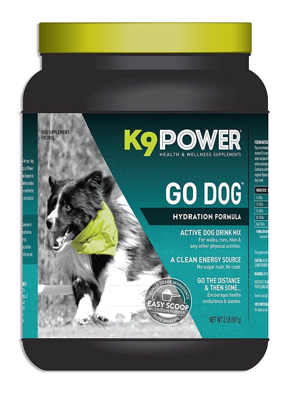 K9Power 'Go Dog' Dog Hydration and Performance Formula, 2