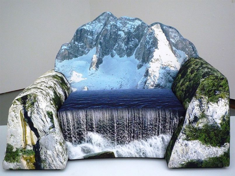 Elegant Montanara Couch By Gaetano Pesce Great Pictures