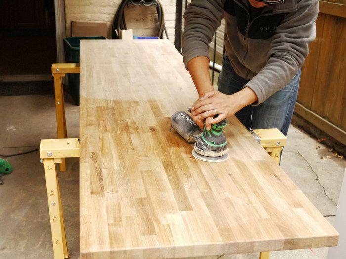 holztische esstisch massivholz selber machen | möbel | pinterest, Esstisch ideennn