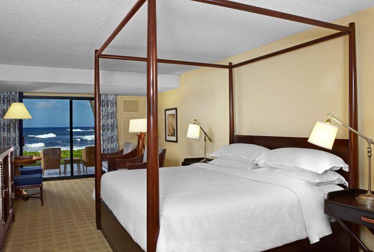Sheraton Kauai Resort Hotel Ocean Luxury Room Level 5 Spg Overall Rating 4 5 Pros No Additional Cost For Flights We Have M Kauai Resorts Kauai Hawaii Resorts