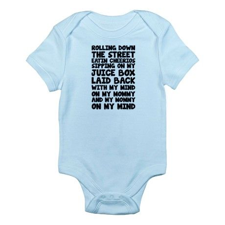 55a0012cf Gangster Baby Rolling Down The Street Body Suit on CafePress.com ...