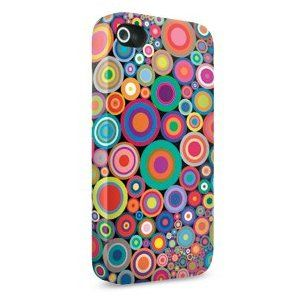 Skinit Psychedelic Circles Slim Case for Apple iPhone 4 4S
