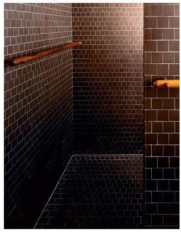 Bathroom Tile Detail Esherick House Philadelphia Pennsylvania - Bathroom tile philadelphia